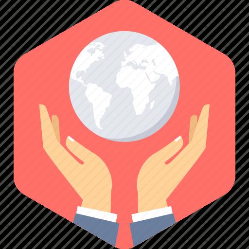 global, web, world icon