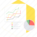 analysis, analytics, bar, diagram, graph, pie, report icon