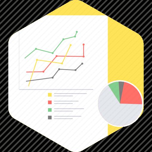 analysis, analytics, bar, diagram, graph, pie, report icon