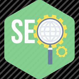 marketing, optimization, search, seo, web icon