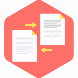 copy, document, page, paper, paste, share, sheet icon