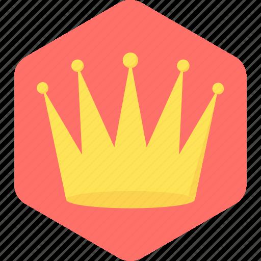 achievement, award, crown, success, winner icon