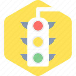 green, light, red, sign, signal, traffic, yellow icon