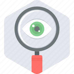 find, look, magnifier, search, see, view icon