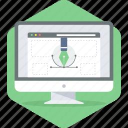 creative, design, development, web icon