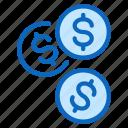 cash, coins, exchange, money, payment