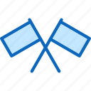 flagpole, flags, location, race icon