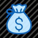 bag, bank, capital, investment, money, savings