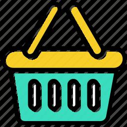 basket, buy, retail, shopping icon