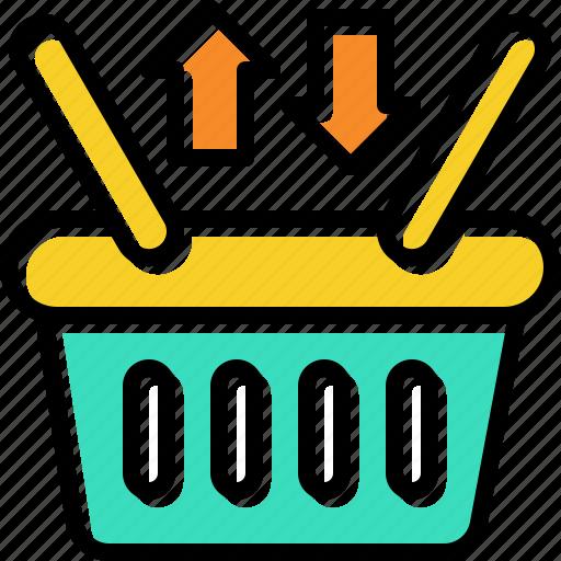 exchange, item, retail, store icon