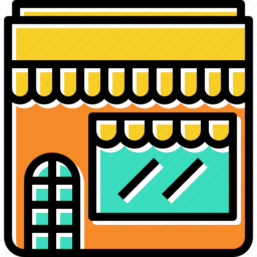 front, restaruant, retail, shop, store icon