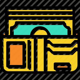 bag, money, purse, wallet icon