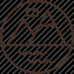 badge, ecology, education, logo, science icon