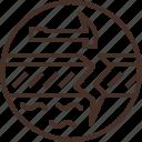 badge, education, geology, logo, science