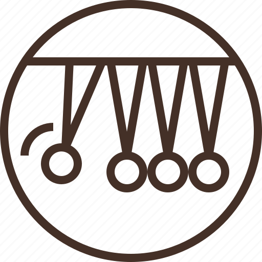 badge, education, kinetics, logo, science icon