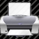document, folder, paper, print, printer icon
