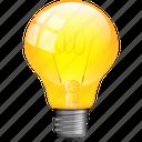 bulb, electricity, energy, idea, lamp, light, lightning icon