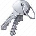 access, key, keys, lock, password, security, unlock icon