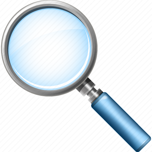 find, glass, magnifier, magnifying, seach, search, zoom icon