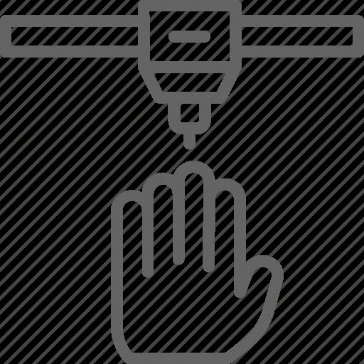 human, industrial, medical, organ, organs, printer, printing icon