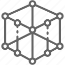 cube, engineering, model, modeling, printing, product, prototype
