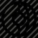 ball, dimensional, geometry, globe, interaction icon