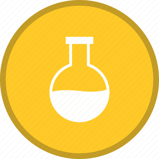 Flask, experiment, chemistry, laboratory icon - Download on Iconfinder
