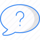 faq, question, support, help, service, question mark icon