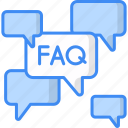 faq, question, support, help, service, question answer icon