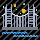 bridge, gate, golden, landmark, tourism, usa