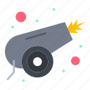 army, canon, war, weapon icon