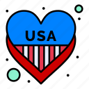 american, heart, independence, july, love, of, usa