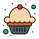 cake, dessert, independence, july, muffin, of, usa icon