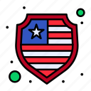 american, independence, july, of, protection, shield, usa