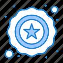 police, star, usa icon