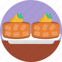 american, food, crab, cakes, seafood icon