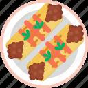 food, enchilada, mexican, tortilla, wrap