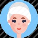 woman, female, avatar, profile