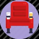 cinema, seat, theater