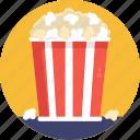 cinema, movie, popcorns, entertainment