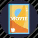 cinema, movie, ticket, film