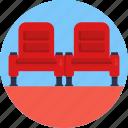 cinema, film, movie, movies, seats