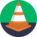 alert, cone, safety, warning, safety cone