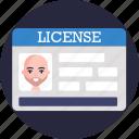 driving, car, card, license, identity, id