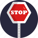 stop, sign, label, symbol