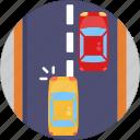 car, overtaking, traffic, transport