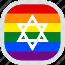 flag, gay, israel, lgbt, lgbtq, pride, rights