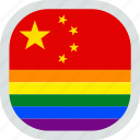 flag, lgbt, chinese, pride, gay, lgbtq, china
