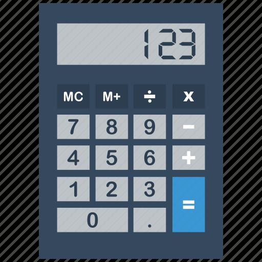 accounting, calc, calculate, calculation, calculator, math, mathematics icon