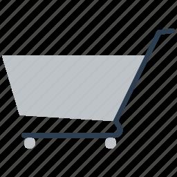 basket, buy, cart, ecommerce, empty, shop, shopping icon